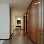 简朴型走廊吊顶设计
