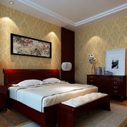 暖色调卧室壁纸图片