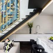 公寓楼梯效果图片