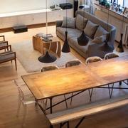 阁楼木地板设计欣赏
