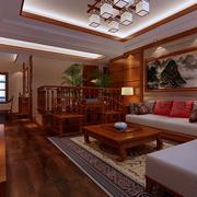 传统型客厅隔断装修