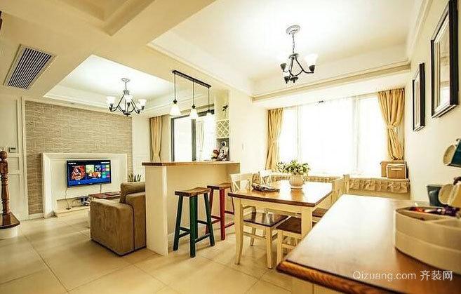 80后小资夫妻三室两厅两卫家庭装修效果图