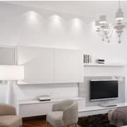 纯白色调卧室设计图片