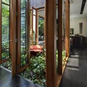 别墅走廊效果图片