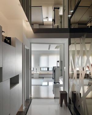 90平米北欧风格书香门第素雅房屋装修效果图