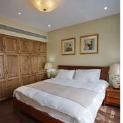 清淡型卧室壁纸图片