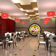 豪华型餐馆设计图片