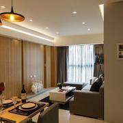 暖色调两室两厅设计