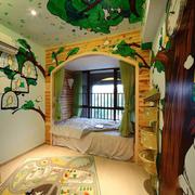 童真型儿童房效果图