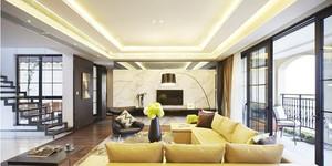 三室一厅光滑细腻大理石背景墙图片
