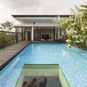 别墅游泳池效果图片