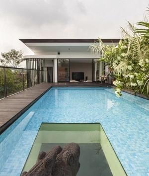 与自然和谐相处的别墅装修设计效果图