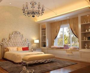都市风格三室一厅飘窗装修效果图