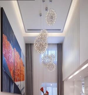 前卫时尚跃层式住宅室内设计装修效果图