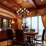 深色调客厅装修欣赏