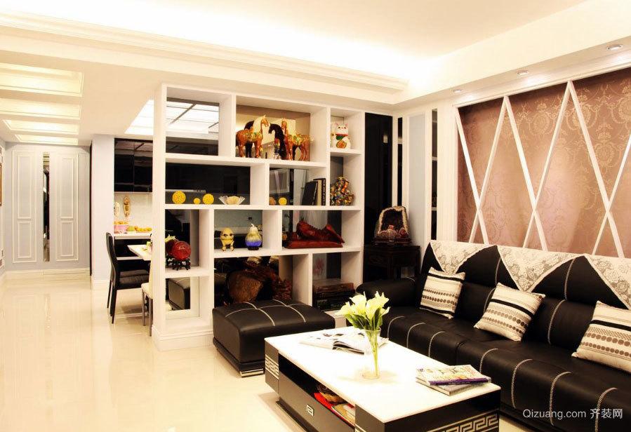 2015新古典风格三室一厅新房装修效果图