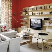 淡色调客厅装修图片