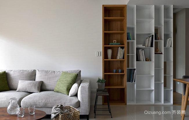 时尚优雅自住型商品房家庭装修效果图