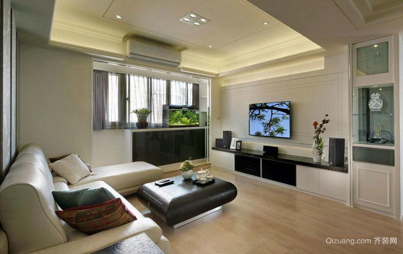 退休老人时尚老房室内装修设计效果图