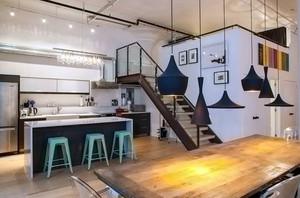 阁楼楼梯设计欣赏