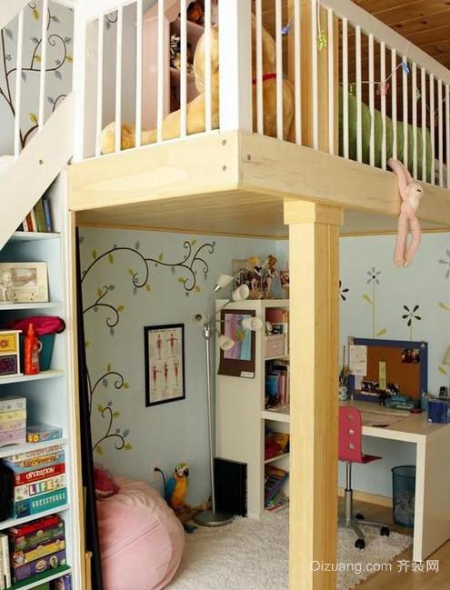 120平米未来之星儿童房装修效果图