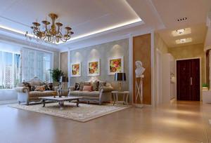 散发着无尽魅力的欧式客厅装修效果图