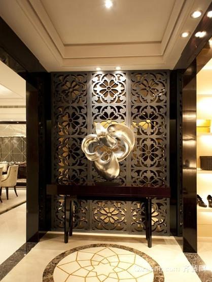 让人耳目一新的古典客厅隔断装修效果图