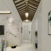 清新系列走廊吊顶设计