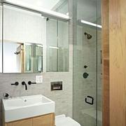 卫生间镜子装修图片