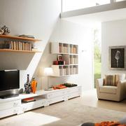 简洁系列书柜设计图片