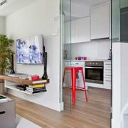 时尚风格单身公寓设计