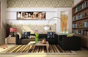 客地板厅装修图片