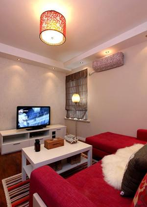 70平米简约浪漫让人倍感幸福的婚房装修设计