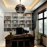 精致型书柜设计图片