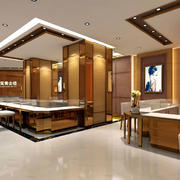 中式风格展柜设计图片