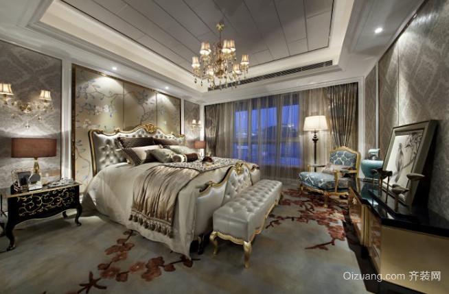 2015现代都市风格的卧室吊顶造型装修效果图大全