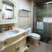 别墅卫生间装修图片