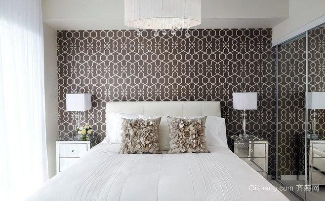 两室一厅经典简约大方的卧室装修效果图