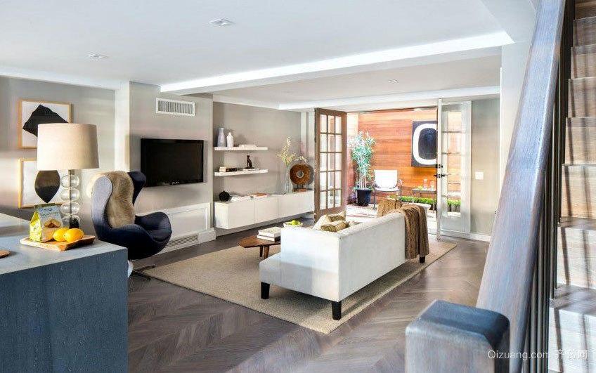 180平米欧式低调朴素现代版别墅装修效果图