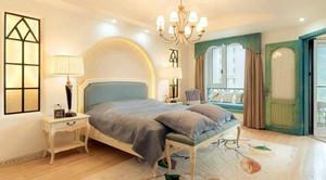 温馨的法式风格卧室吊顶造型装修效果图大全