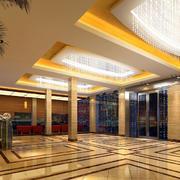 酒店灯光设计图片
