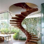 木质楼梯设计图片