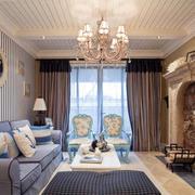 欧式风格窗帘设计图片