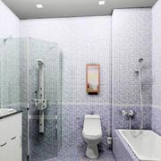 自然风格浴室装修设计