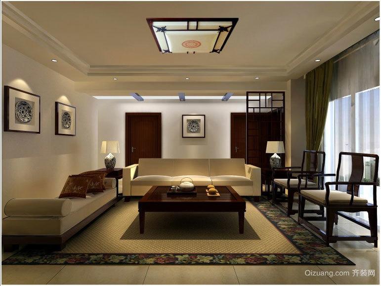 缔造完美的宜家中式家装设计效果图鉴赏