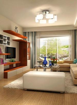 90平米设计精致美观的客厅吧台装修效果图鉴赏