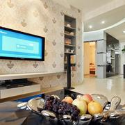 家庭室内背景墙设计