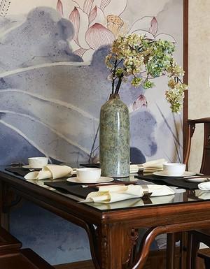 2015营造完美的就餐空间优雅注重品位的餐厅背景墙设计