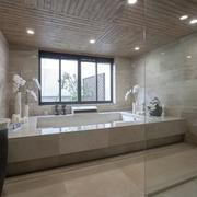 清新型浴室窗户设计