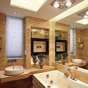 唯美型浴室装修设计